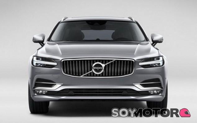 Frontal del Volvo V90... ¿Te suena de algo? - SoyMotor