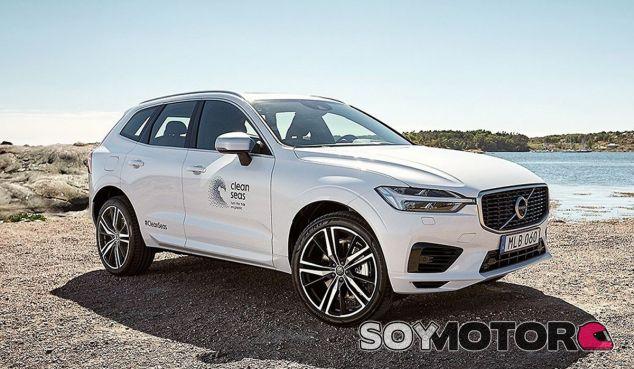 Materiales reciclados sustituyen a los paneles de plástico en este Volvo XC60 - SoyMotor