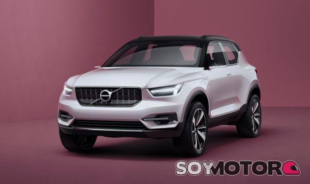 En la imagen podemos contemplar el Volvo Concept 40.1 - SoyMotor