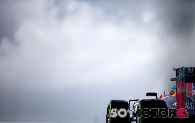 Sebastian Vettel durante la clasificación del GP de Gran Bretaña - LaF1