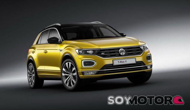 El Volkswagen T-Roc R compartirá algo más que el apellido con el Golf R - SoyMotor
