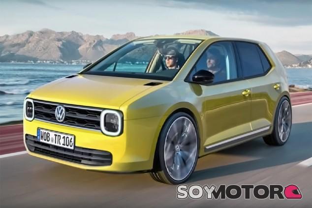 Recreación del posible Volkswagen 'mini Golf' - SoyMotor.com