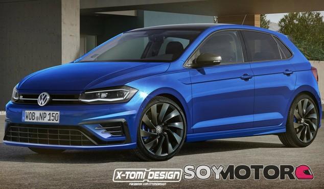 Render del Volkswagen Golf R de X-Tomi Design - SoyMotor
