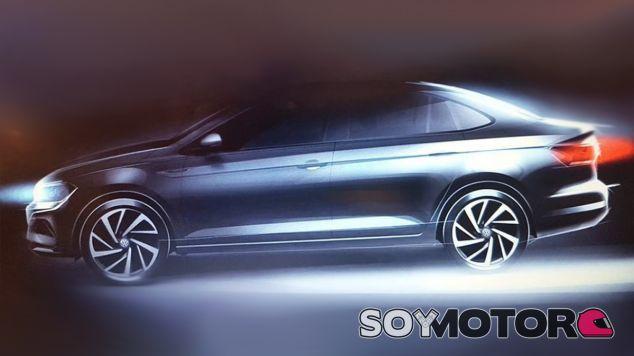 Primer teaser del Volkswagen Virtus sudamericano - SoyMotor