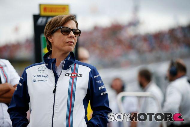 Claire Williams, en el pasado GP de Hungría - LaF1