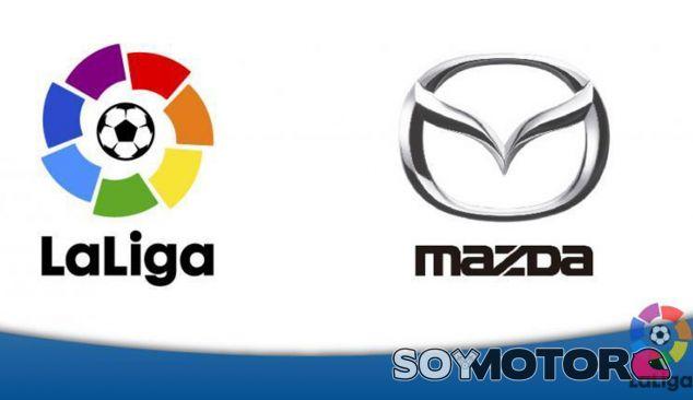 Mazda patrocinará la Liga de Fútbol en España