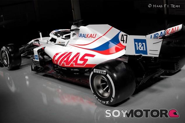 Decoración de Haas para 2021 - SoyMotor.com