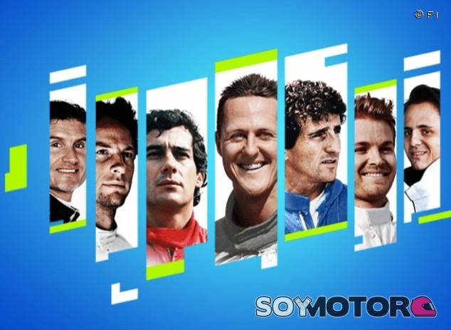 El F1 2021 permitirá tener a Senna o Schumacher como compañeros - SoyMotor.com