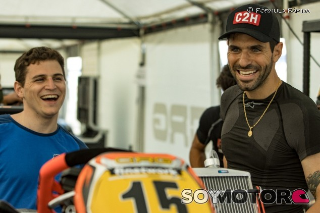 Jaime Alguersuari domina los entrenamientos en su regreso al karting - SoyMotor.com