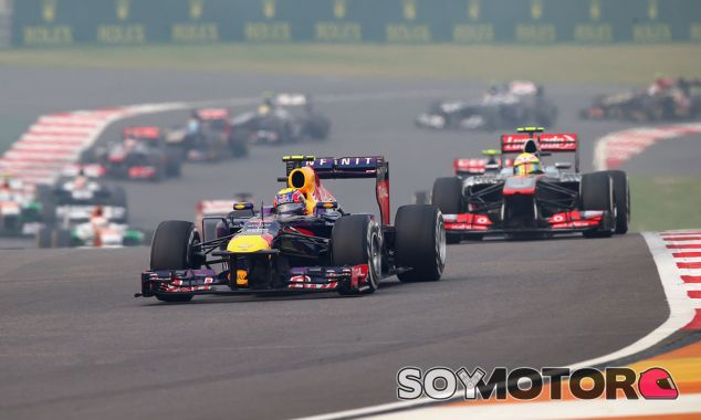 Mark Webber a los mandos de su Red Bull - LaF1