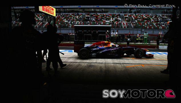 Mark Webber en el GP de la India F1 2013 - LaF1