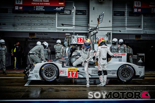 Mark Webber se baja del Porsche 919 Hybrid en las 6 horas de Nürburgring - LaF1