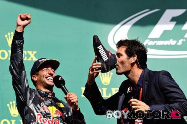 Este fue el momento divertido del podio - LaF1