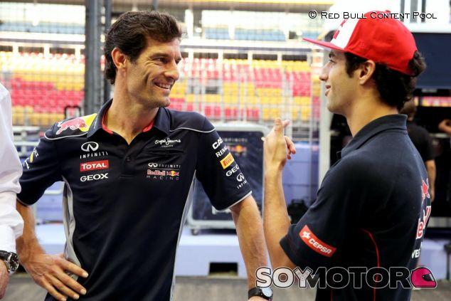 Mark Webber y Daniel Ricciardo - LaF1
