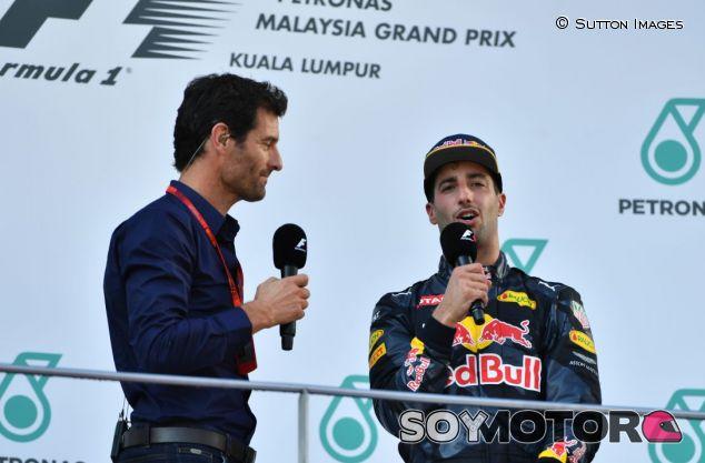 Mark Webber y Daniel Ricciardo - SoyMotor.com