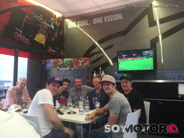 Webber y Newey no se perdieron la última carrera de MotoGP - LaF1