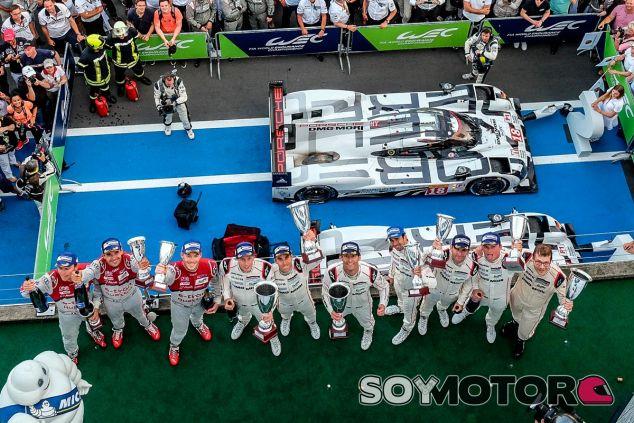 Los pilotos del podio de las 6 horas de Nürburgring - LaF1
