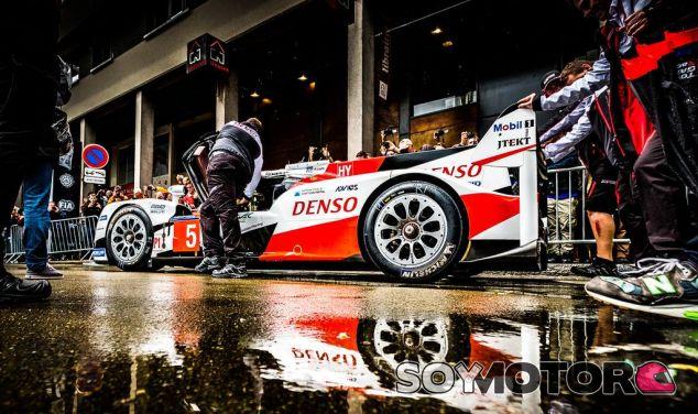 Toyota en las verificaciones técnicas del pasado domingo - LaF1