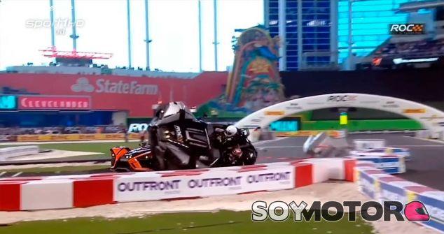 El accidente de Pascal Wehrlein en la Race of Champions - SoyMotor