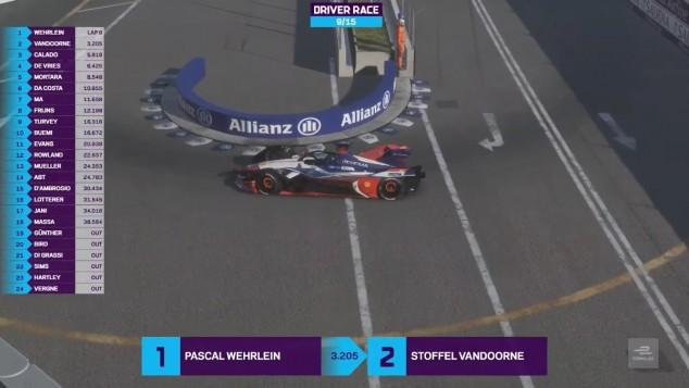 Wehrlein gana en la cuarta ronda ronda del campeonato virtual de Fórmula E - SoyMotor.com