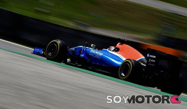 Wehrlein, durante el GP de Brasil - LaF1
