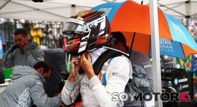 Wehrlein, antes de arrancar el GP de Brasil - LaF1