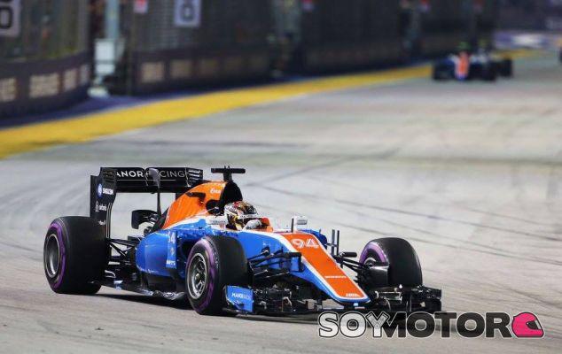 Pascal Wehrlein en Singapur - LaF1