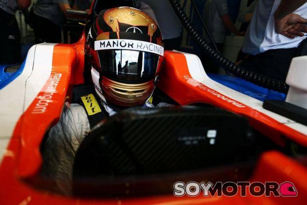Pascal Wehrlein debutó esta temporada con Manor - SoyMotor