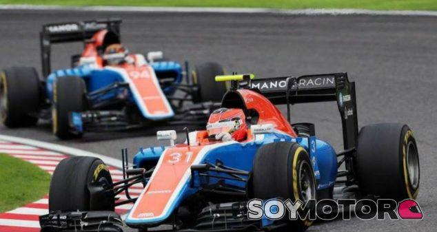 Ocon y Wehrlein durante una carrera esta temporada - SoyMotor