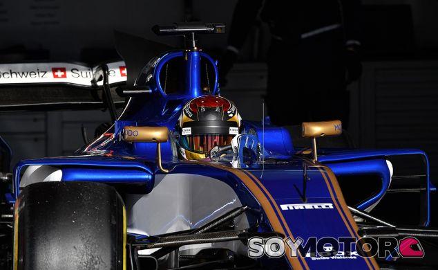 Pascal Wehrlein en los test de Barcelona - SoyMotor