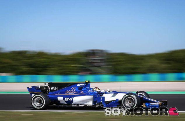 Sauber en el GP de Hungría F1 2017: Sábado - SoyMotor.com
