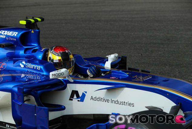 Pascal Wehrlein en Spa - SoyMotor.com