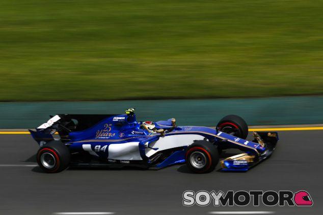 Sauber en el GP de Australia F1 2017: Viernes - SoyMotor