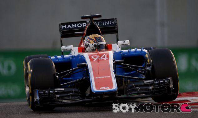 Pascal Wehrlein en la última carrera de la historia de Manor - SoyMotor.com