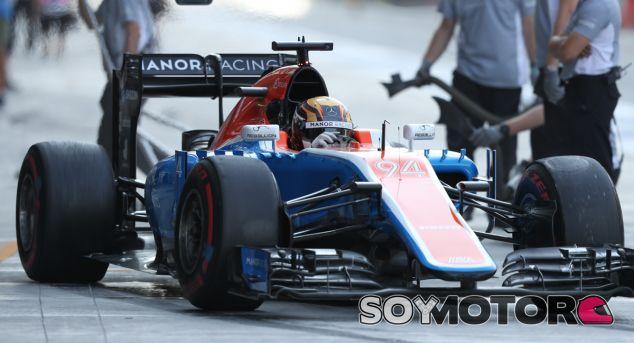 Manor retira su inscripción al campeonato 2017 de F1 - SoyMotor.com