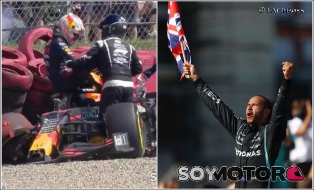 """Verstappen: """"Que Hamilton celebre conmigo en el hospital no es respetuoso ni deportivo"""" - SoyMotor.com"""