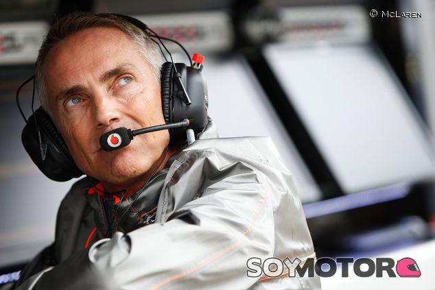 Martin Whitmarsh en el muro de McLaren - LaF1.es