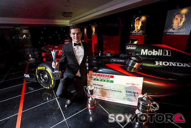 Will Palmer, ganador del premio en 2015 - LaF1