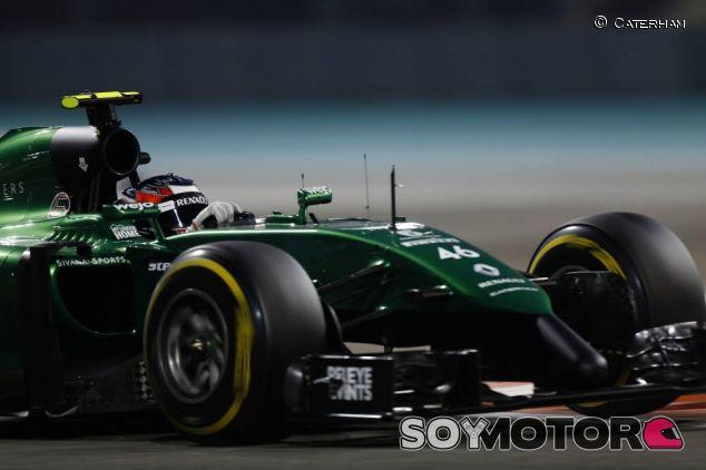 Will Stevens en el pasado Gran Premio de Abu Dabi - LaF1