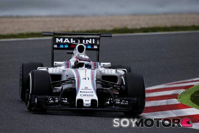 Williams simuló cargas aerodinámicas de 2017 en los test de temporada tras el GP de España - SoyMotor