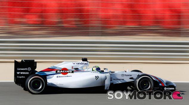 Felipe Massa durante la carrera de Sakhir - LaF1