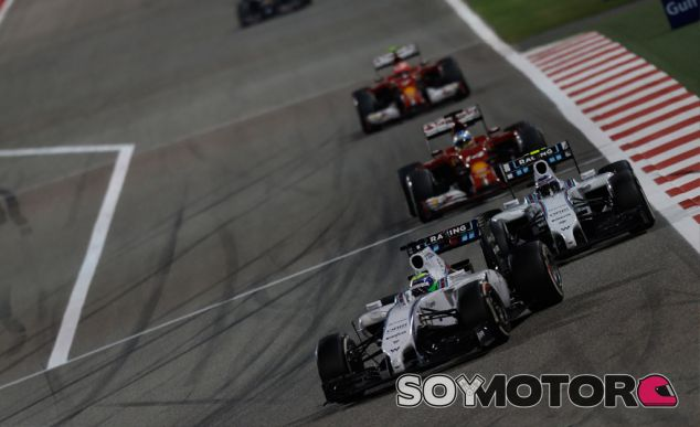 Felipe Massa y Valtteri Bottas en el Gran Premio de Baréin - LaF1