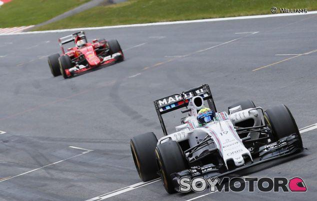 Felipe Massa en Austria, donde sorprendió a Vettel y le arrebató el podio - LaF1