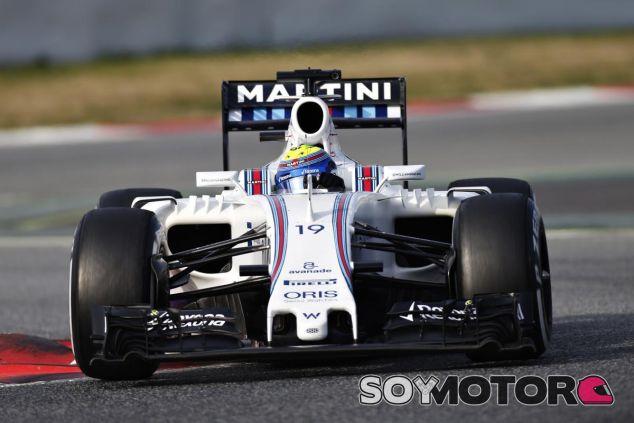 Massa, a la espera del nuevo alerón delantero de Williams - LaF1