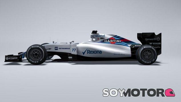 Nueva imagen del FW37 de Williams - LaF1.es