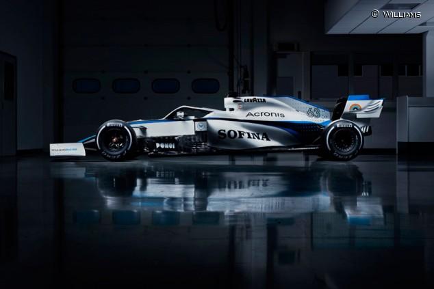 Williams anuncia su nueva decoración para la temporada 2020 - SoyMotor.com