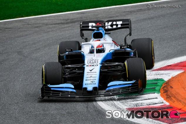 George Russell en el GP de Italia F1 2019 - SoyMotor