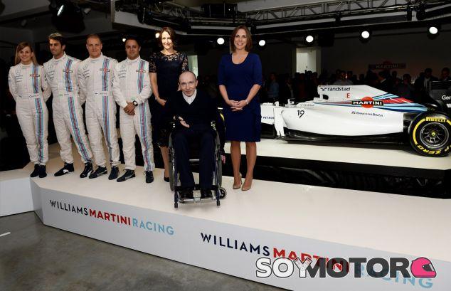 Sir Frank Williams en la presentación del patrocinio de Martini - LaF1