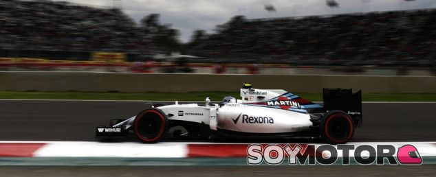 Uno de los Williams durante la FP2 en México - LaF1