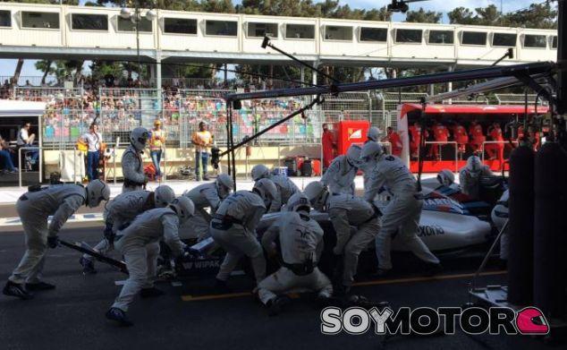 Williams es el mejor equipo en las paradas en boxes esta temporada - LaF1